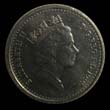 Elizabeth II Decimal 5p 1995 Obverse