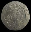 Elizabeth II Decimal 20p 1989 Reverse