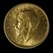 George V Gold Sovereign 1911 Obverse