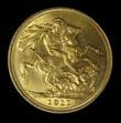 George V Gold Sovereign 1911 Reverse