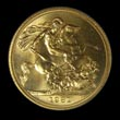 Elizabeth II Gold Sovereign 1981 Reverse
