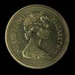 Elizabeth II Decimal £1 1983 Obverse