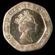 Elizabeth II Decimal 20p 1996 Obverse