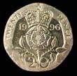 Elizabeth II Decimal 20p 1996 Reverse