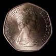 Elizabeth II Decimal 50p 1970 Obverse