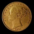 Victoria Gold Sovereign 1869 Obverse