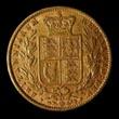 Victoria Gold Sovereign 1869 Reverse