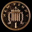 Elizabeth II Decimal 1p 1974 Reverse