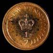 Elizabeth II Decimal 1/2p 1971 Reverse