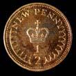 Elizabeth II Decimal 1/2p 1974 Reverse