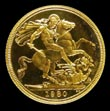 Elizabeth II Gold Sovereign 1980 Reverse