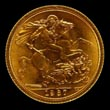 Elizabeth II Gold Sovereign 1967 Reverse
