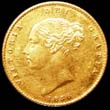 Victoria Gold ½ Sovereign 1856 Obverse