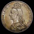 Victoria Crown 1889 Obverse