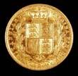 Victoria Gold Sovereign 1856 Reverse
