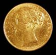 Victoria Gold Sovereign 1847 Obverse