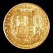 Victoria Gold Sovereign 1847 Reverse