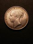 Victoria Shilling 1856 Obverse