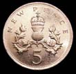Elizabeth II Decimal 5p 1978 Reverse