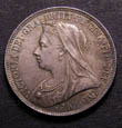 Victoria Shilling 1895 Obverse