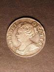 Anne Shilling 1708 Obverse