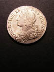 George II Shilling 1736 Obverse