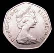 Elizabeth II Decimal 50p 1978 Obverse