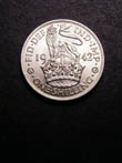 George VI Shilling 1942 Reverse