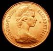Elizabeth II Decimal 1p 1973 Obverse