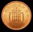 Elizabeth II Decimal 1p 1973 Reverse