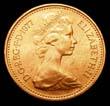 Elizabeth II Decimal 1p 1977 Obverse