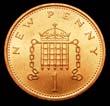 Elizabeth II Decimal 1p 1980 Reverse