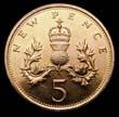 Elizabeth II Decimal 5p 1979 Reverse