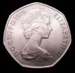Elizabeth II Decimal 50p 1976 Obverse