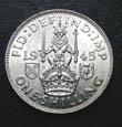 George VI Shilling 1945 Reverse