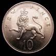 Elizabeth II Decimal 10p 1970 Reverse