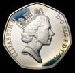 Elizabeth II Decimal 50p 1997 Obverse