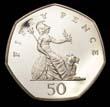 Elizabeth II Decimal 50p 1997 Reverse
