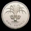 Elizabeth II Decimal £1 1985 Reverse
