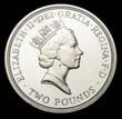 Elizabeth II Decimal £2 1994 Obverse