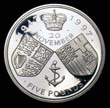 Elizabeth II Five pound Crown 1997 Reverse