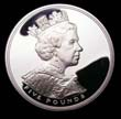 Elizabeth II Five pound Crown 2002 Obverse