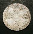 George II Shilling 1750 Reverse