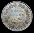 George III Bank Token 1/6 1813 Reverse