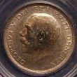 George V Halfcrown 1914 Obverse
