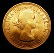 Elizabeth II Gold Sovereign 1959 Obverse