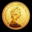 Elizabeth II Gold Sovereign 1980 Obverse