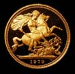 Elizabeth II Gold Sovereign 1979 Reverse
