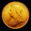 Victoria Gold Sovereign 1895 Obverse