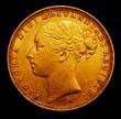 Victoria Gold Sovereign 1886 Obverse
